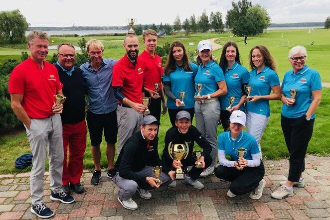 Baltijos golfo čempionų taurės turnyras | Organizatorių nuotr.