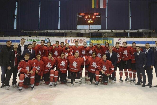 Lietuvos jaunių ledo ritulio rinktinė   hockey.lt nuotr.