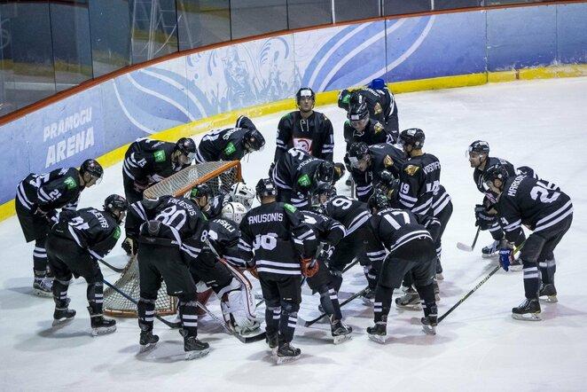 """""""Hockey Punks"""" ir """"Energijos-Geležinio vilko"""" rungtynės   Roko Lukoševičiaus/BNS Foto nuotr."""