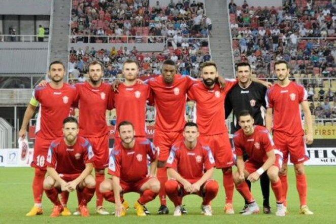 """Rabotnicki"" komanda eliminavo Turkijos klubą | twitter nuotr."