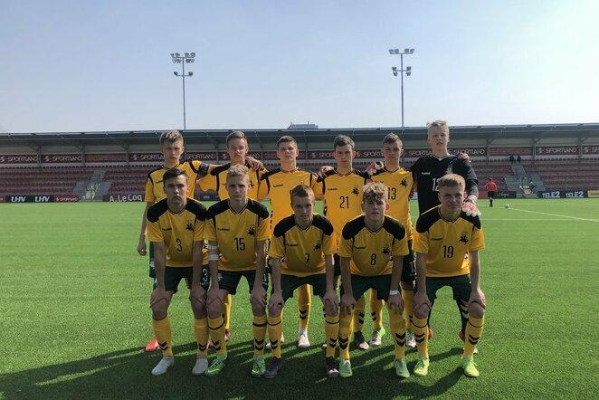 Lietuvos U17 futbolo rinktinė | lff.lt nuotr.