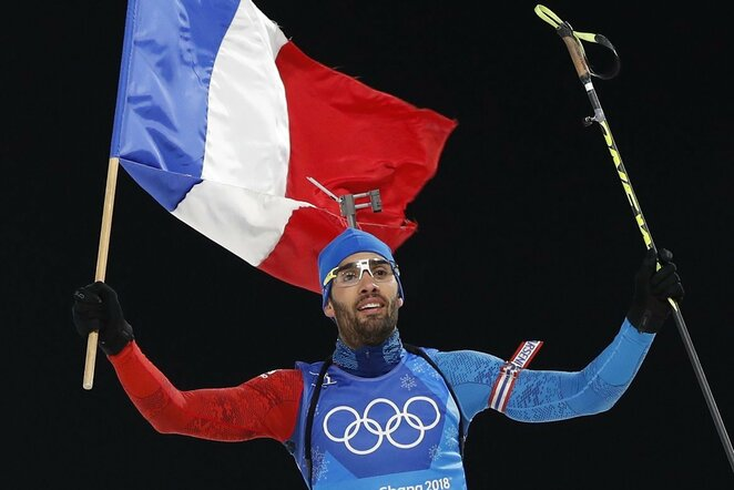 Martinas Fourcade'as | Scanpix nuotr.