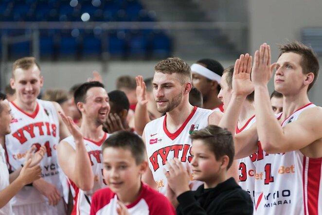 """""""Vyčio"""" ir """"Sūduvos-Mantingos"""" rungtynės    NKL nuotr."""
