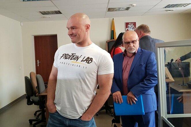 Ramūnas Vyšniauskas ir Bronislovas Vyšniauskas | Jurgitos Andriejauskaitės / BNS foto nuotr.