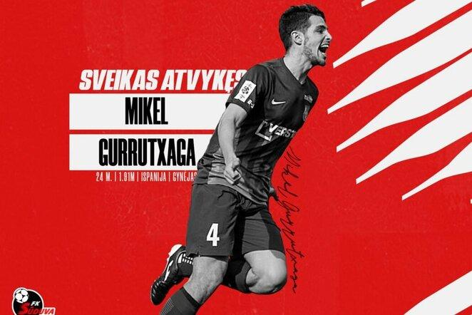 Mikelis Gurrutxaga | fksuduva.lt nuotr.
