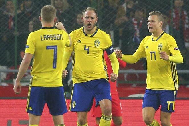 Turkija - Švedija rungtynių akimirka | Scanpix nuotr.