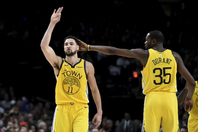 Thompsonas ir Durantas | Scanpix nuotr.