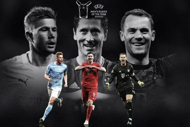 UEFA metų žaidėjas | Organizatorių nuotr.