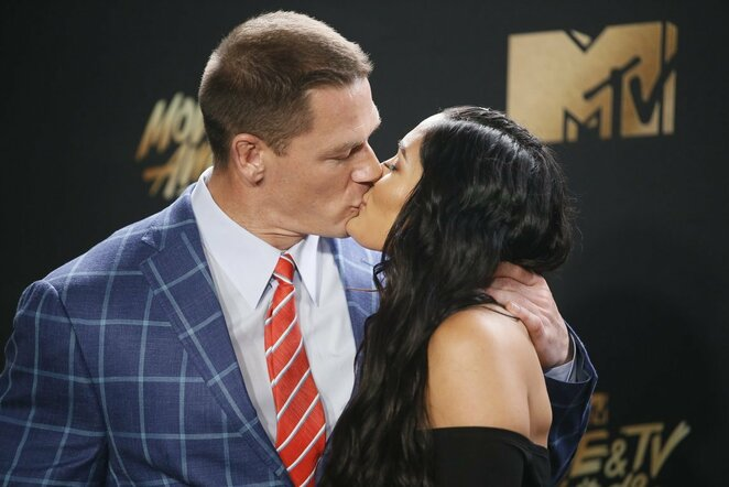 Johnas Cena ir Nikki Bella | Scanpix nuotr.