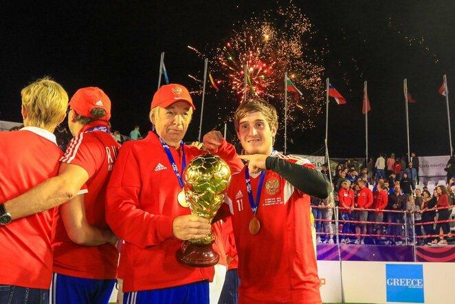 Rusijos mažojo futbolo rinktinė   Organizatorių nuotr.