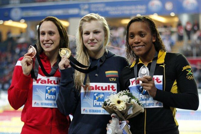 Rūta Meilutytė (viduryje) | Reuters/Scanpix nuotr.