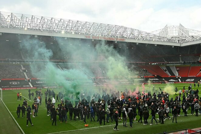"""Manchester United"" sirgaliai | Scanpix nuotr."