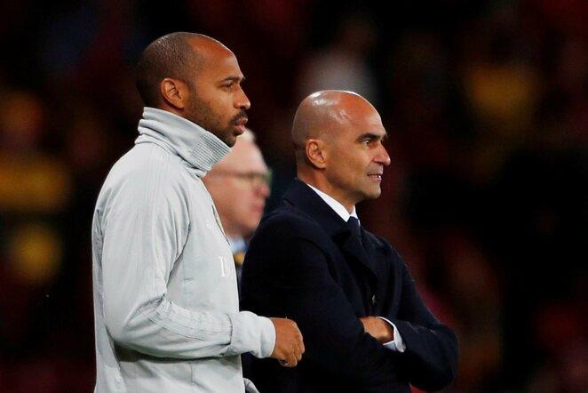 Thierry Henry ir Roberto Martinezas | Scanpix nuotr.
