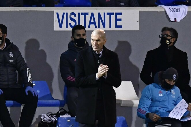 Zinedine'as Zidane'as | Scanpix nuotr.
