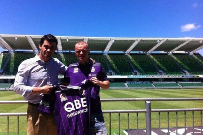 Darvydas Šernas žais Australijoje | footballaustralia.com.au nuotr