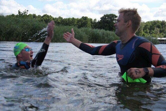 Kuršių marių plaukimo maratonas   Organizatorių nuotr.