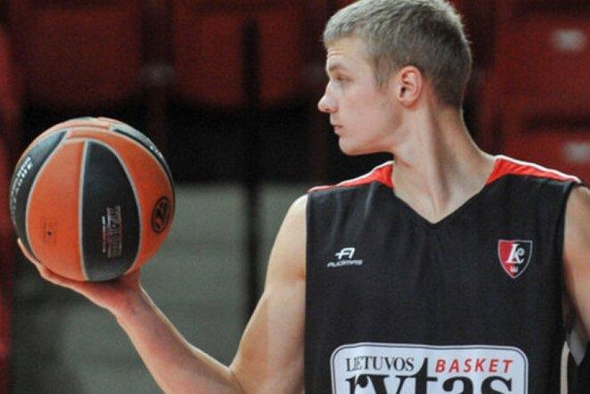 P.Dambrauskas džiaugiasi būdamas Alytaus klube (Fotodiena.lt)