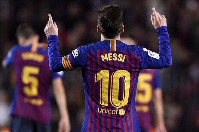 "Lionelis Messi | ""Twitter"" nuotr."