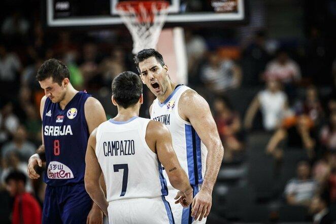 Scola ir Campazzo | FIBA nuotr.