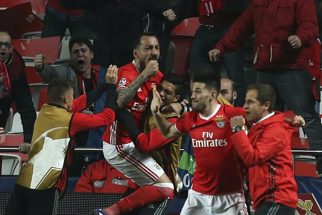 """Benfica"" triumfuoja   Scanpix nuotr."