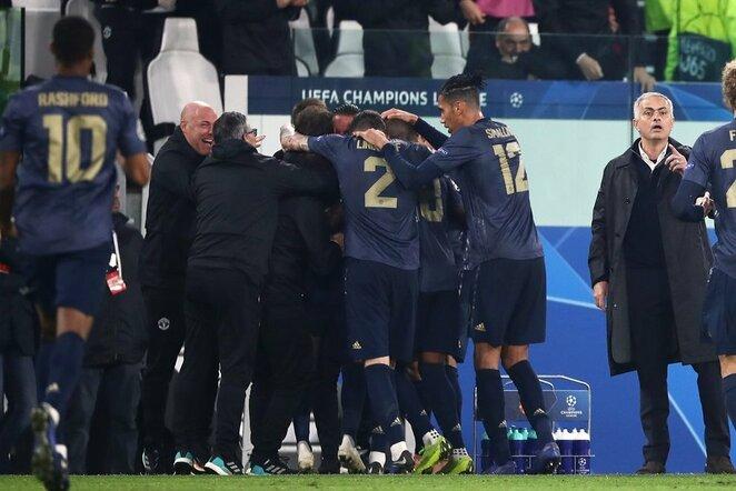 """Juventus"" – ""Manchester United"" rungtynių akimirka | Scanpix nuotr."
