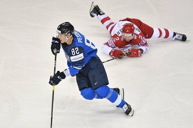 Suomijos – Danijos rungtynių akimirka | Scanpix nuotr.