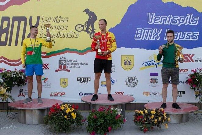 Gytis Pirinauskas, Titas Girdvilis ir Edvinas Čiarna (Sandra Tutere nuotr.) | Organizatorių nuotr.
