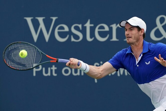 Andy Murray'us | Scanpix nuotr.