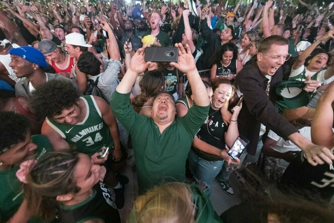 """Bucks"" fanų triumfas | Scanpix nuotr."