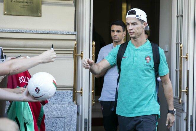 Cristiano Ronaldo | Luko Balandžio / BNS foto nuotr.