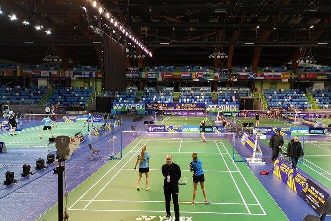 Lietuvos moterų badmintono rinktinė   Organizatorių nuotr.