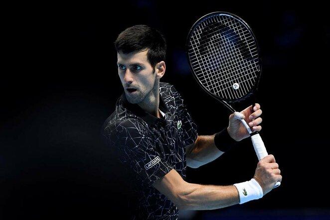 Novakas Djokovičius prieš Alexanderį Zverevą | Scanpix nuotr.