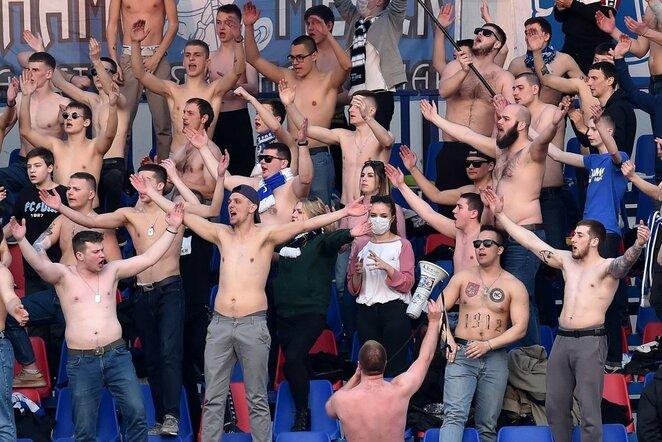 Futbolo rungtynės Baltarusijoje | Scanpix nuotr.