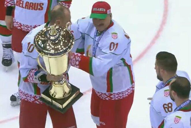 Baltarusijos rinktinė   Youtube.com nuotr.
