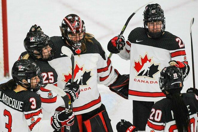 Kanados ledo ritulininkės   Scanpix nuotr.