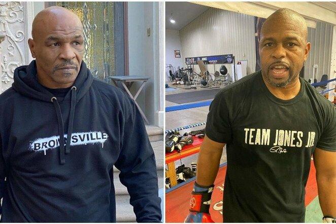 Mike'as Tysonas ir Roy Jonesas jaunesnysis | Instagram.com nuotr