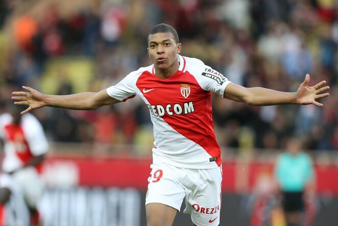 Kylianas Mbappe Lottinas | Scanpix nuotr.