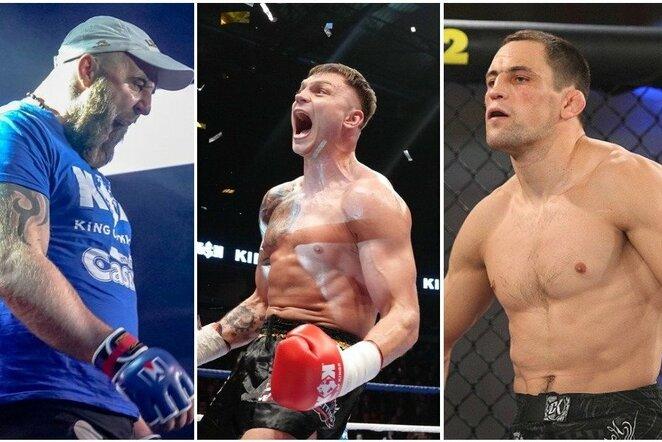 Tomas Pakutinskas, Sergejus Maslobojevas ir Marius Žaromskis | Organizatorių nuotr.