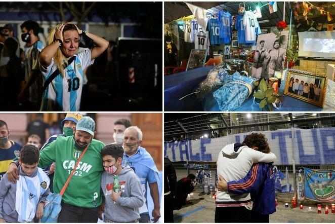 Pasaulis gedi Diego Maradonos | Scanpix nuotr.