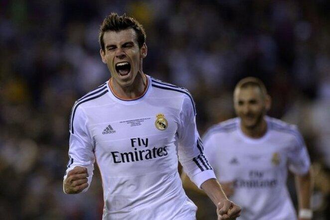Pergalingo įvarčio autorius Garethas Bale'as   AFP/Scanpix nuotr.