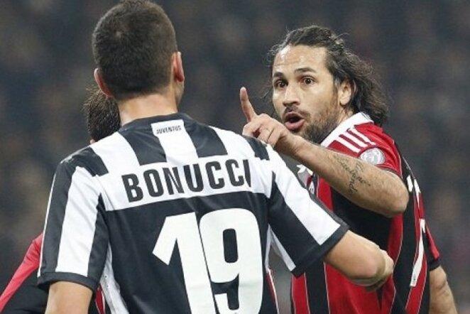 """""""Juventus"""" ir """"Milan"""" dar kartą aiškinsis savo santykius   Reuters/Scanpix nuotr."""