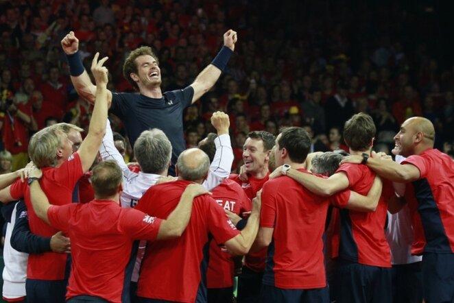 Britų triumfas   Reuters/Scanpix nuotr.