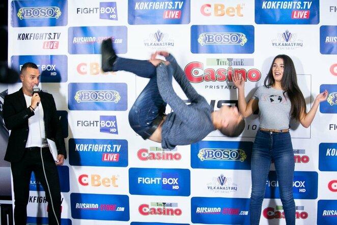 """MMA Bushido 77"" svėrimai   Josvydo Elinsko / BNS foto nuotr."