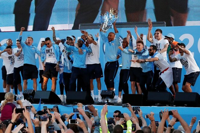 """Manchester City"" paradas   Scanpix nuotr."