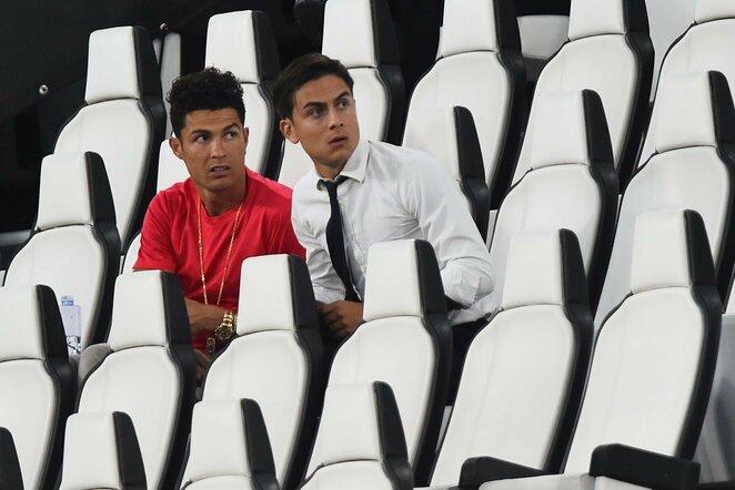Cristiano Ronaldo ir Paulo Dybala   Scanpix nuotr.
