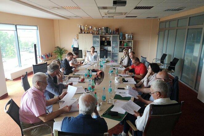 LLAF tarybos posėdis   Organizatorių nuotr.