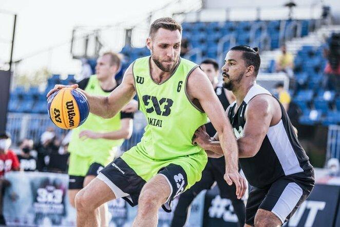 Pasaulio 3x3 krepšinio turo etapas Dohoje   FIBA nuotr.