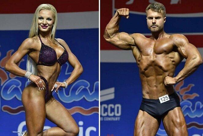 Lina Kudrickė ir Dovydas Stonkus   Organizatorių nuotr.