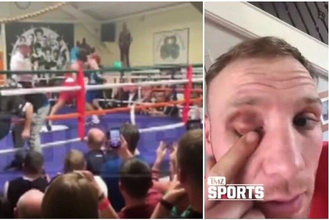 Conoras McGregoras prieš Michaelą McGrane'ą | Youtube.com nuotr.