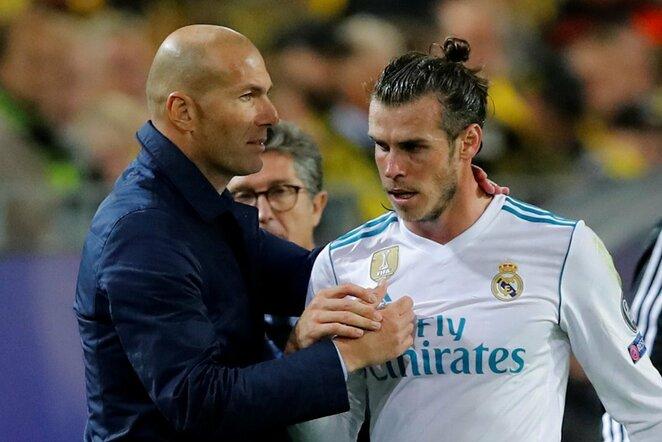 Zinedinas Zidanas, Garethas Bale'as   Scanpix nuotr.